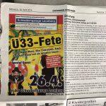 Anzeige_ue33-Party_Schwabengarage-Leonberg