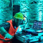 Baustellenparty mit DJ Harry Garcia