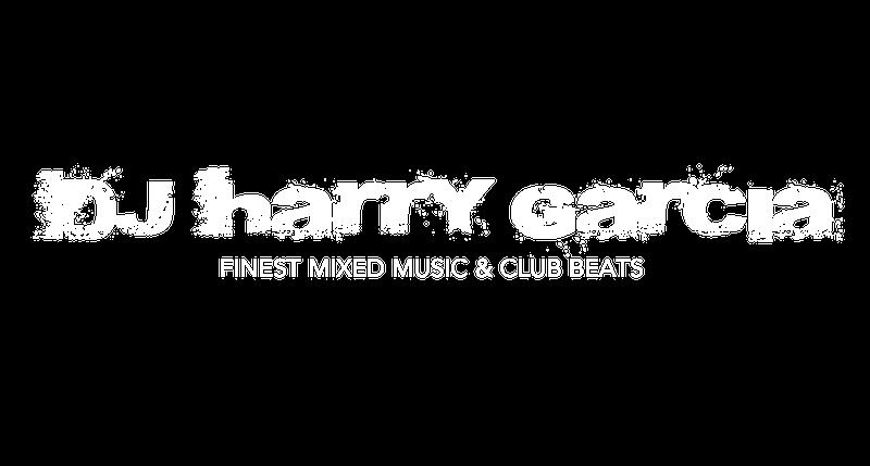 DJ Harry Garcia Logo Weiss