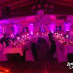 ambiente Beleuchtung in Pink von Forsthof Almhütte