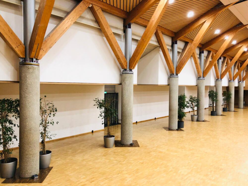 Waldaupark Degerloch ohne ambiente Beleuchtung