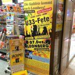 Plakat_Ue33-Fete_Schwabengarage_Leo-Center