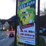 Plakat_Ue33-Fete_Schwarzwaldhalle_Calw