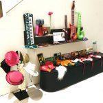 Fotobox Requisiten & Accessoires Aufbau