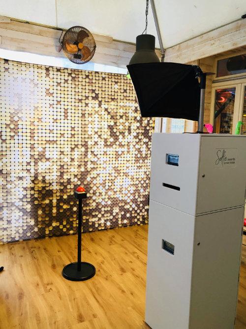 Setup Fotobox Mauritius by Selfie.events
