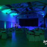 Stadthalle oder Gemeindesaal mit AmbientLight