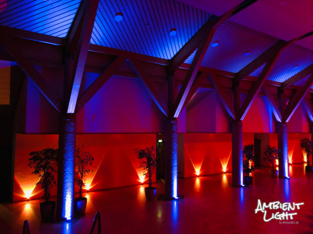 Waldaupark SSB Degerloch mit AmbientLight