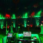Zirkus-Piccolo-Ditzingen mit ambienter Beleuchtung