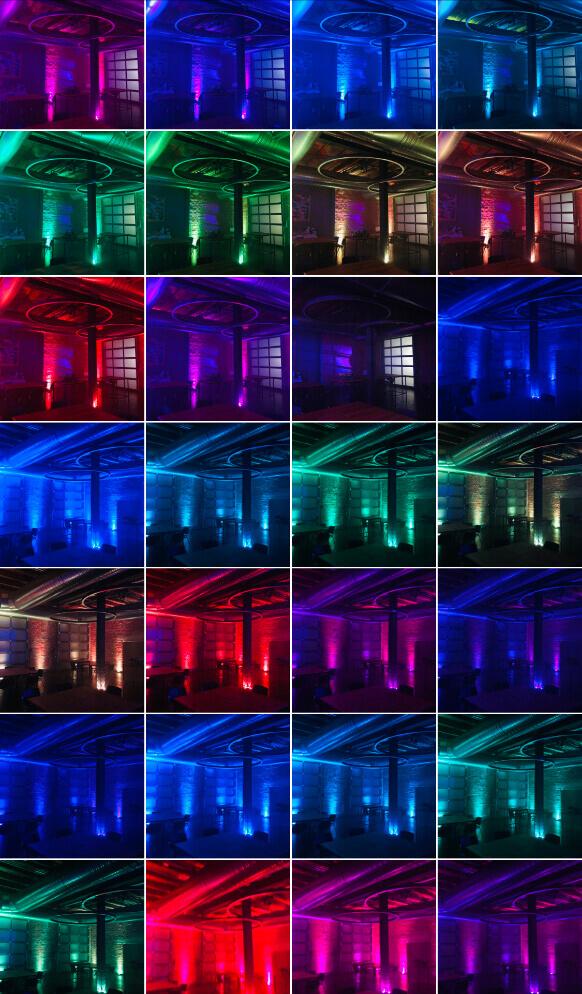 Ambiente Beleuchtung im Zweigwerk11 Göppingen Colormix