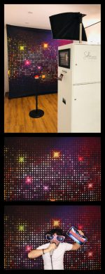 Hintergrundmotivstoff Disco Disco