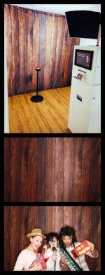 Hintergrundmotivstoff Holz Braun